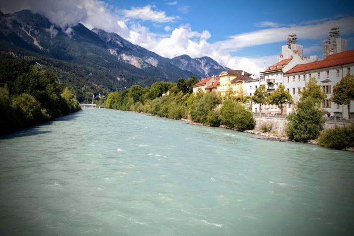 atrakcje w Innsbrucku rzeka Inn