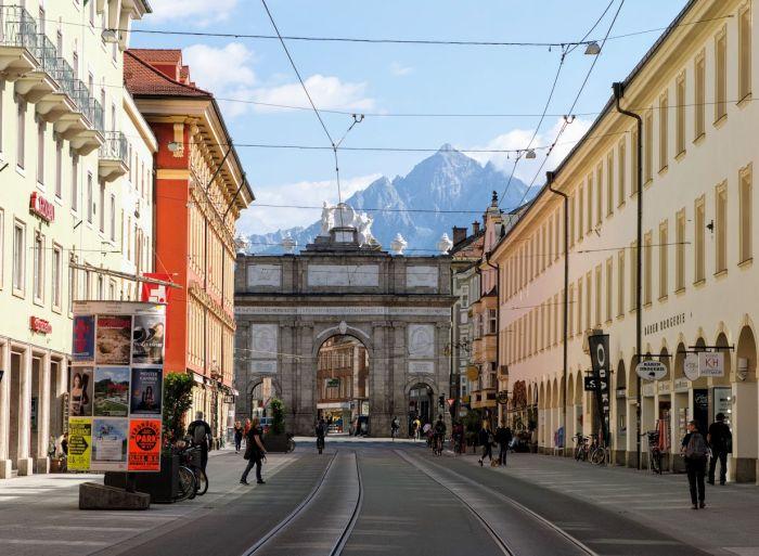 Innsbruck łuk triumfalny