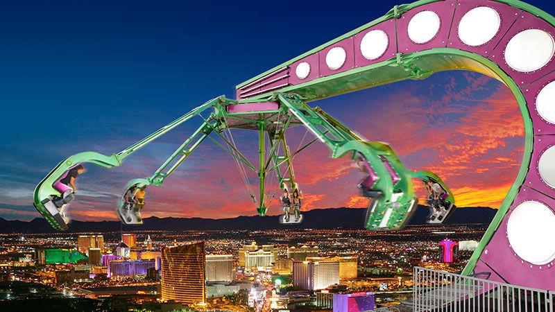 Insanity karuzela Las Vegas atrakcje