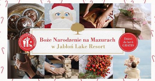 Jabłoń Lake Resort gdzie na Święta Boże Narodzenie 2021