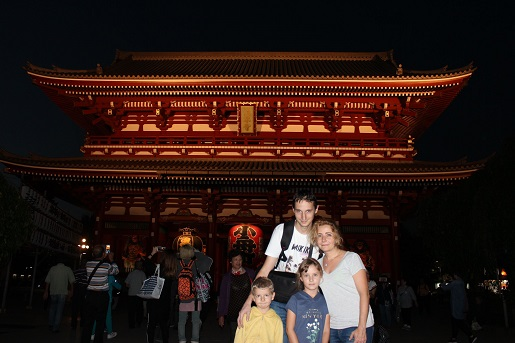 Japonia z dziećmi atrakcje zwiedzanie Tokio - Sensoji