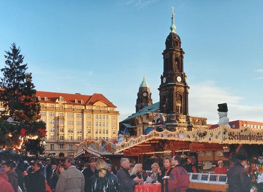 Jarmark Świąteczny Drezno Niemcy
