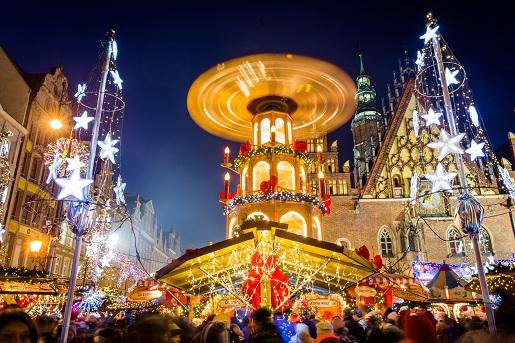 2018 Wrocław Jarmark Bożonarodzeniowy atrakcje dla dzieci opinie