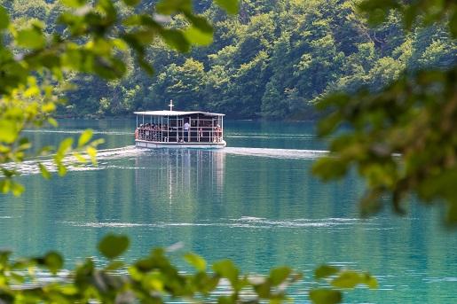 Jeziora Plitwickie, blisko kempingu Strasko, Chorwacja