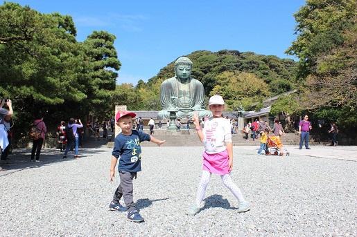 Kamakura - Budda - zwiedzanie Japonii z dziećmi opinie