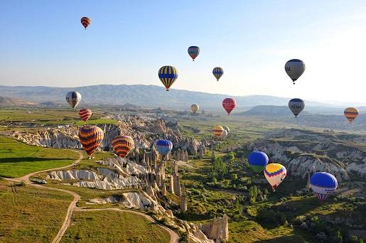 Kapadocja lot balonem opinie atrakcje ceny Turcja