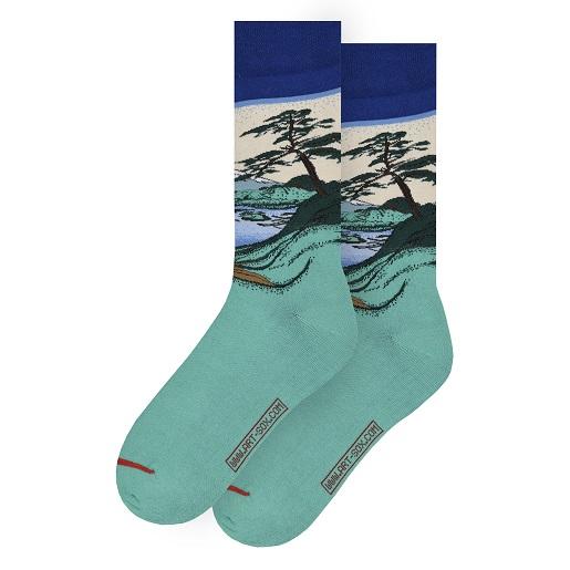 Katsushika Hokusai - Góra Fudżi musearta