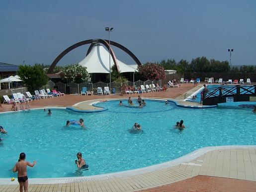 Kemping z basenami okolice Wenecji opinie Włochy nad Adriatykiem wakacje