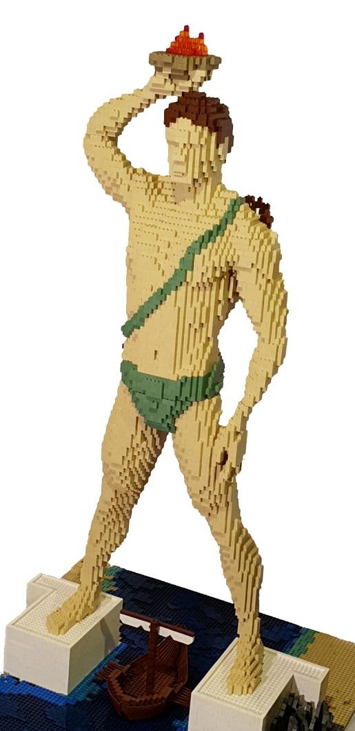 Kolos Rodyjski najwieksza wystawa klocków lego lublin atrakcje opinie