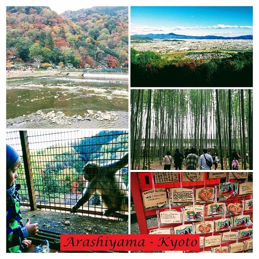 Kyoto Japonia atrakcje zwiedzanie z dziećmi