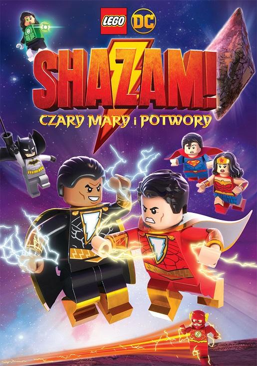 LEGO DC Shazam bajka onlien film dla dzieci Czary Mary i Potwory 2020