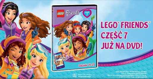 Lego Friends Część 7 Już Na Dvd