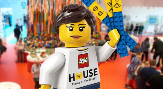 LEGO House Dania klocki atrakcje bilety