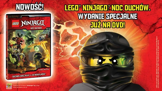 Lego Ninjago Noc Duchów Bajka Online Film