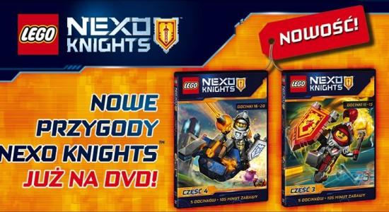 Lego Nexo Knights nowe odcinki