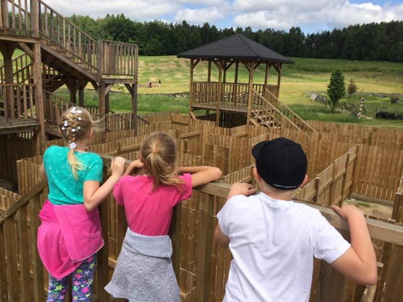atrakcje dla dzieci Kaszuby labirynty