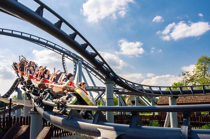 Lech Rollercoaster Kolejka Górska Legendia Śląskie Wesołe Miasteczko 12