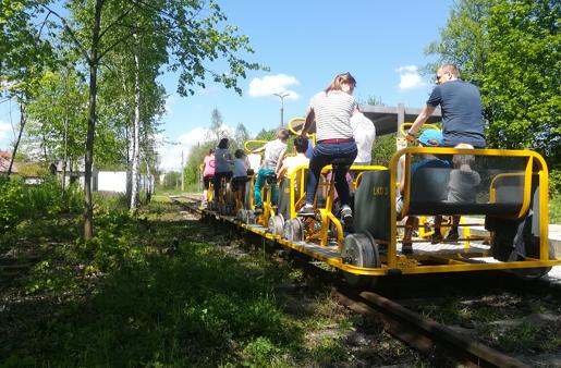 Lokalna Kolej Drezynowa w Regulicach atrakcje dla dzeici małopolska 3