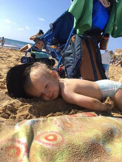 Malta Golden Bay plaża opinie z małym dzieckiem