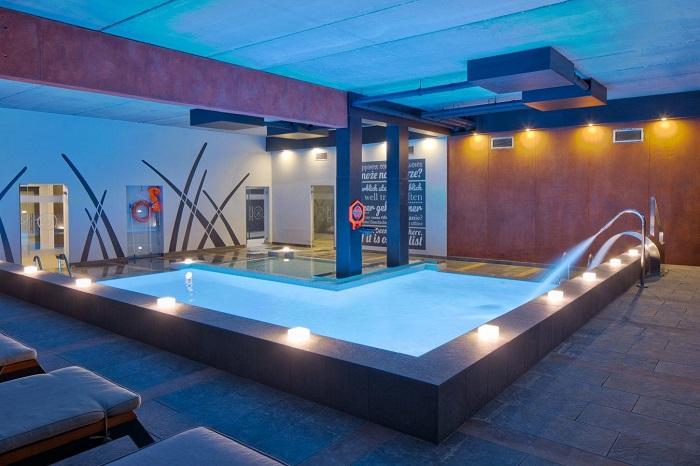 Mielno hotel z basenem Mielenko przyjazny dzieciom opinie Baltin