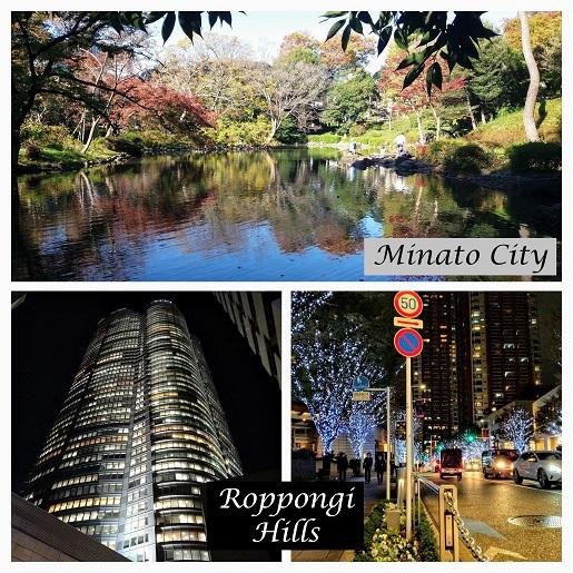 Minato City Japonia Roppongi Hills