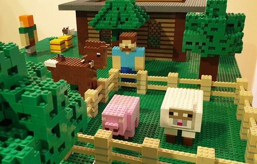 Minecraft najwieksza wystawa klockow lego gliwice atrakcje dla dzieci