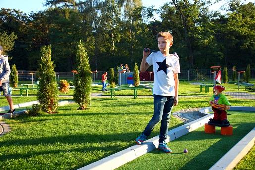 Mini golf Julinek opinie park rozrywki