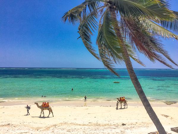 Mombasa plaże Kenia zima opinie wycieczka z dzieckiem