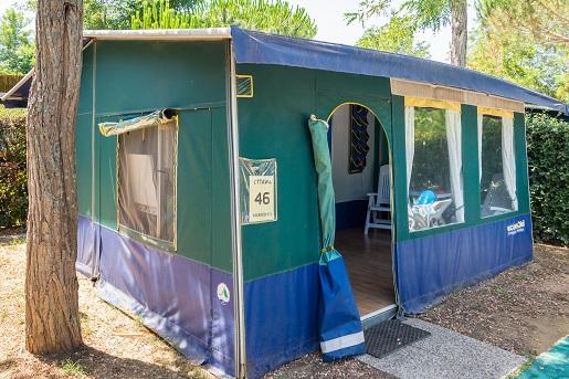 Namiot Ottawa, kemping Park Albatros, Włochy -Vacansoleil opinie zakwaterowanie