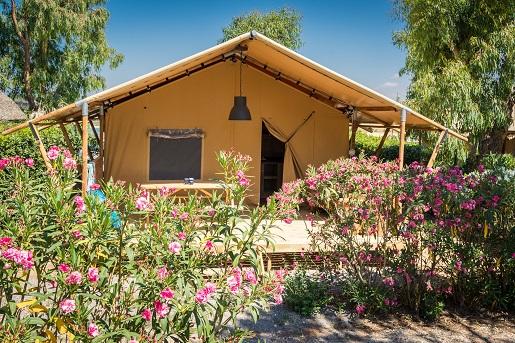 Namiot glampingowy Srenegeti, kemping Free Time, Włochy Vacansoleil opinie jaki namiot wybrać