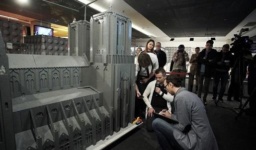 Notre-Dame najwieksza wystawa klockow lego gliwice atrakcje dla dzieci