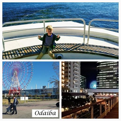 Odaiba Tokyo z dziećmi parki rozrywki atrakcje