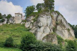 Ojcowski park narodowy z dzieckiem Ojców Ruiny zamku