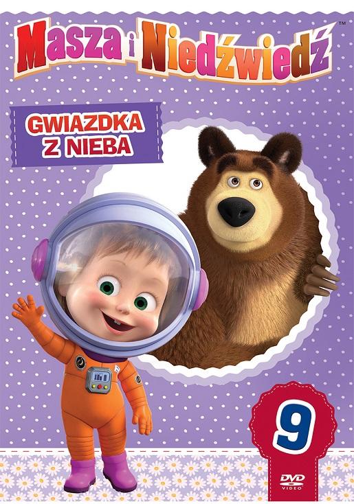 Okładka Masza i Niedźwiedź najkleki obrazki