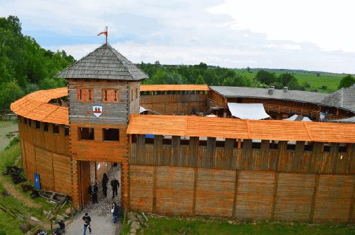 Opolskie z dzieckiem najciekawsze atrakcje miejsca dla dzieci grod rycerski byczyna