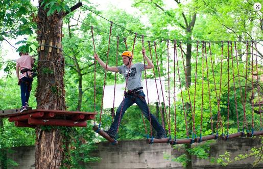 Opolskie z dzieckiem najciekawsze atrakcje miejsca dla dzieci park linowy kanyon opole bilety ceny opinie
