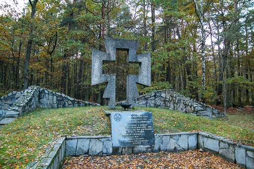 Palmiry-Krzyż Jerzyków - Puszcza Kampinowska