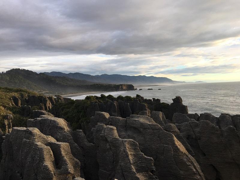Pancake rocks Nowa Zelandia atrakcje - co zobaczyć z dzieckiem opinie