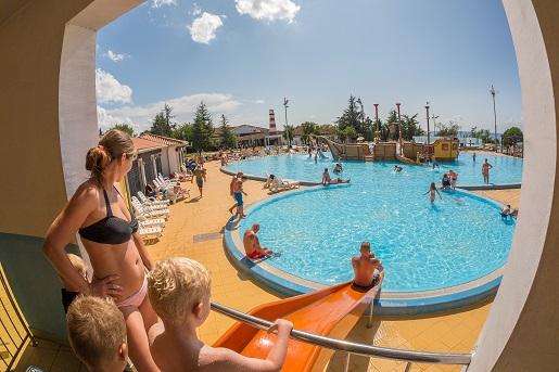 Park Umag-najlepsze kempingi Chorwacja z dzieckiem
