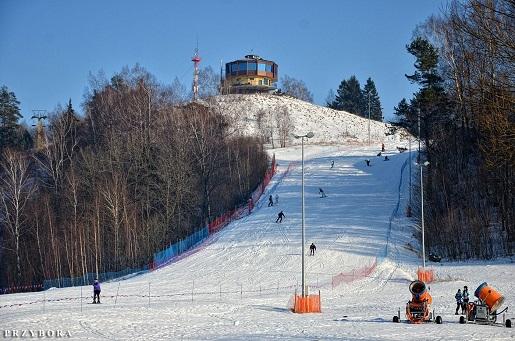 Piękna Góra Rudziewicz - gdzie na narty Mazury Warmia opinie