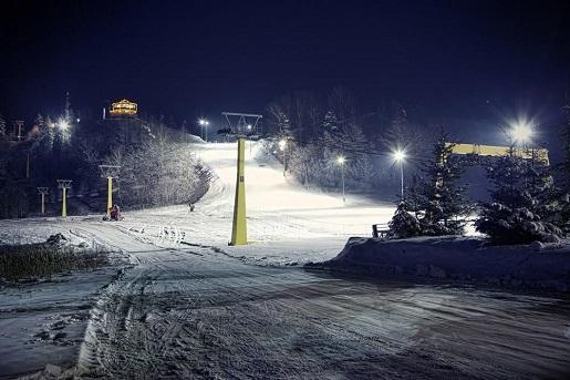 Piękna Góra ośrodek narciarski Mazury Warmia opinie gdzie na narty