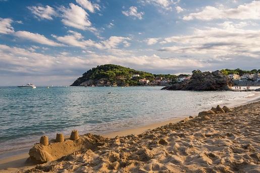 Plaża przy kempingu Kings w Hiszpanii opinie Vacansoleil