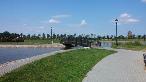 Inowrocław rodzinne atrakcje most