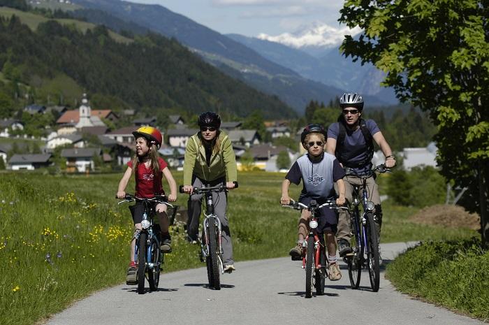 Południowy Tyrol trasy szlaki rowerowe wakacje Austria