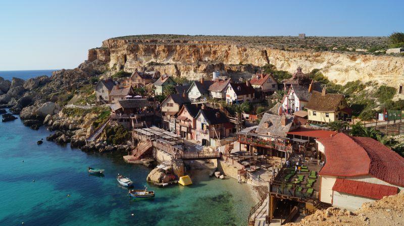 Popeye Miasteczko Malta atrakcje co zobaczyć z dzieckiem