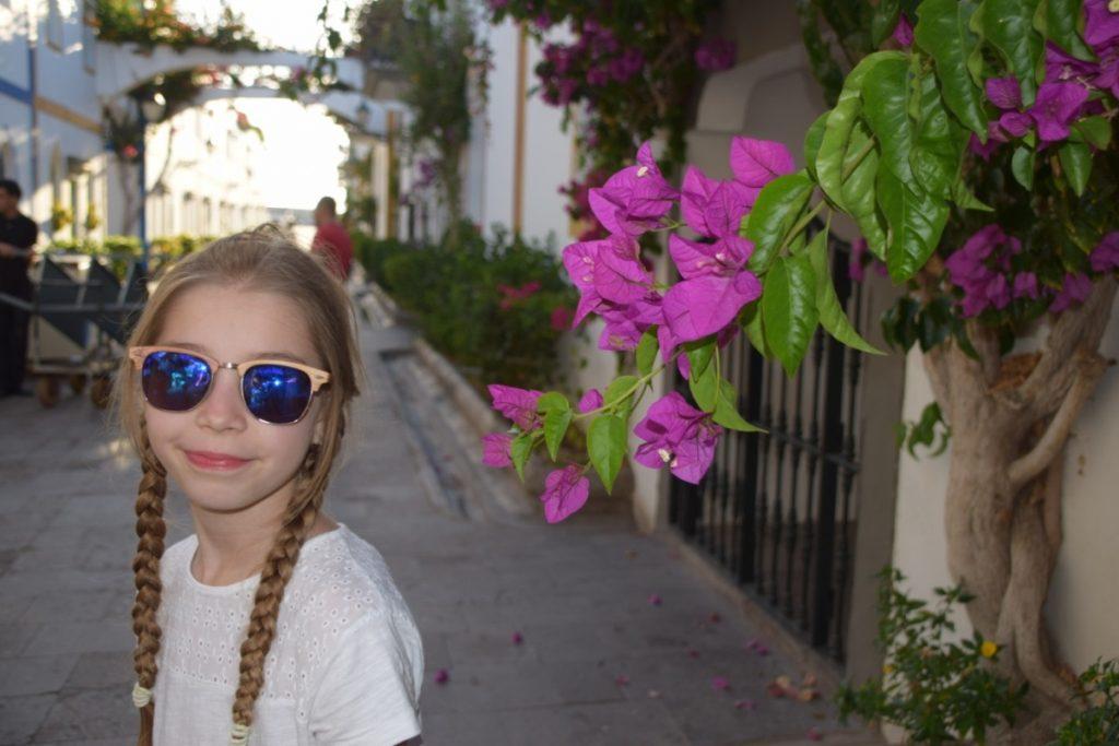 Puerto Mogan Gran Canaria maj wakacje z dzieckiem