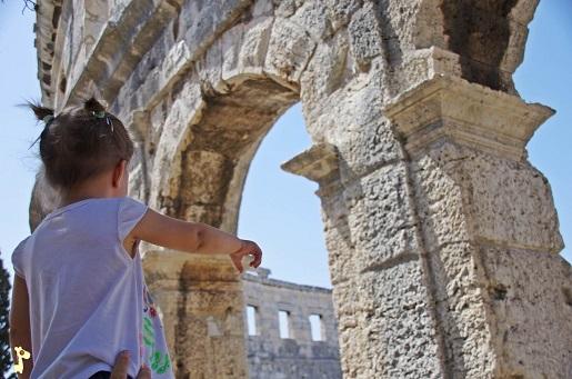 Pula Chorwacja atrakcje z dziećmi opinie