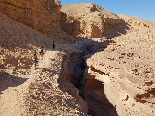 Red Canion Eilat Izrael atrakcje opinie