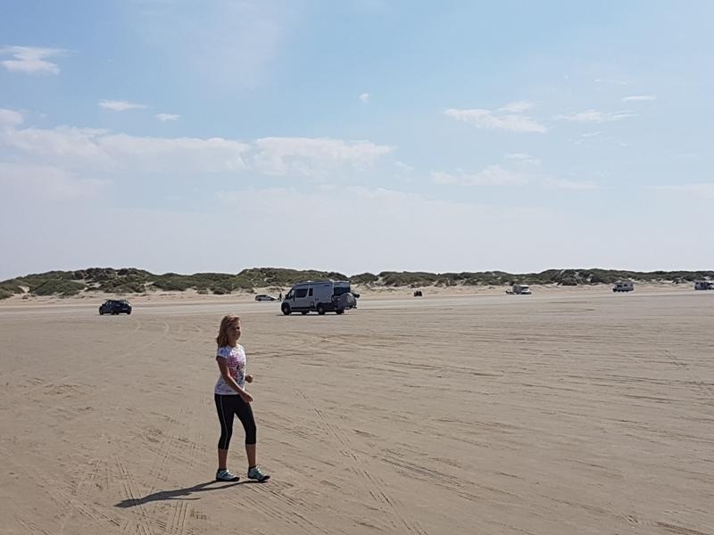 wyspa Romo samochodem po plaży - do LEGOLAND atrakcje