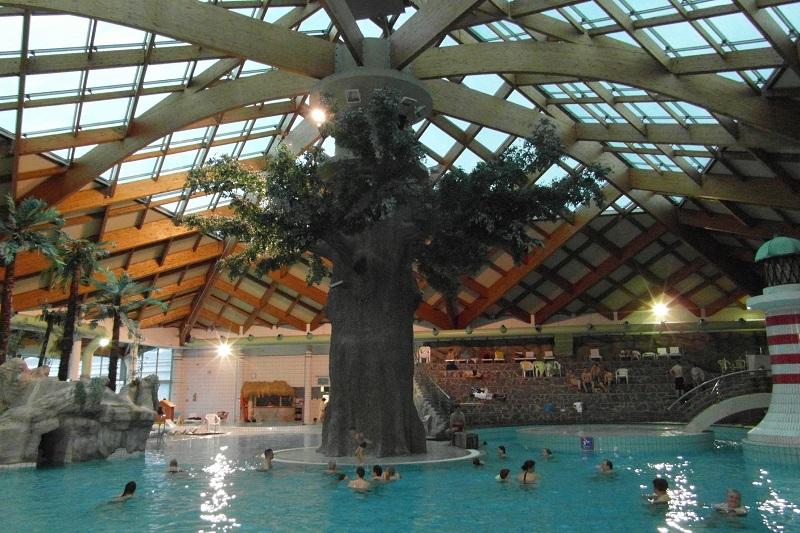 Słowenia kryty Aquapark baseny termalne Catez opinie